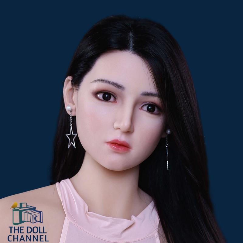 AF Silicone Doll Head 136
