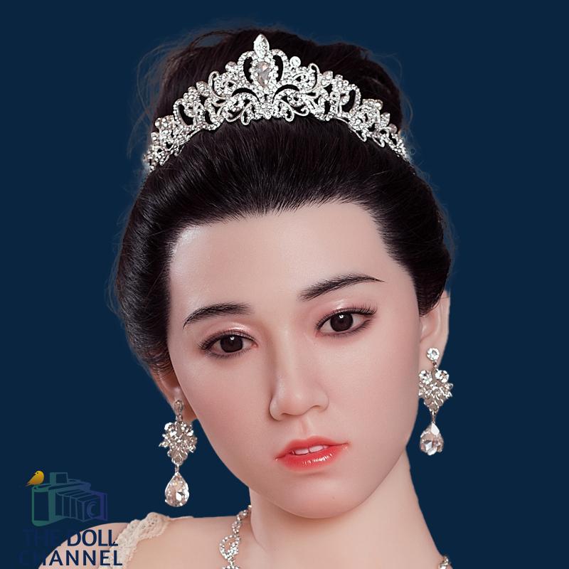 AF Silicone Doll Head 144